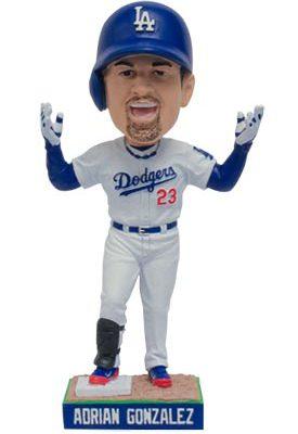 Los Angeles Dodgers Adrian Gonzalez Bobblehead 5-25-2016