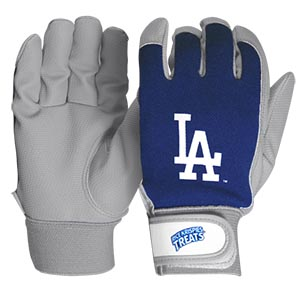 Los Angeles Dodgers Kids Batting Gloves 5-15-2016