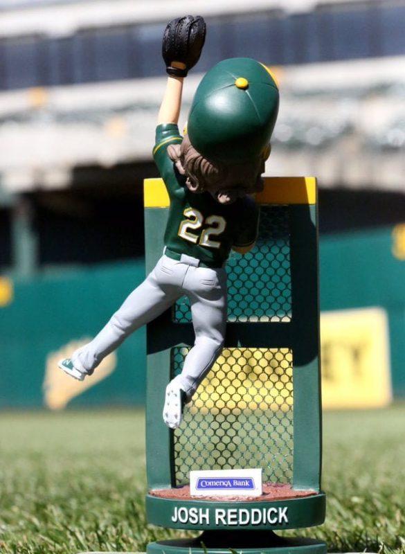 Oakland Athletics Josh Reddick Bobblehead 5-28-2016
