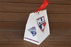 Texas Rangers Champs Tote Bag 5-10-2016