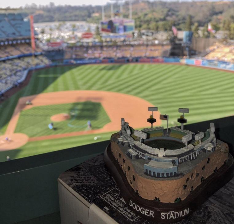 dodgers replica stadium - los angeles dodgers - 5-14-2016