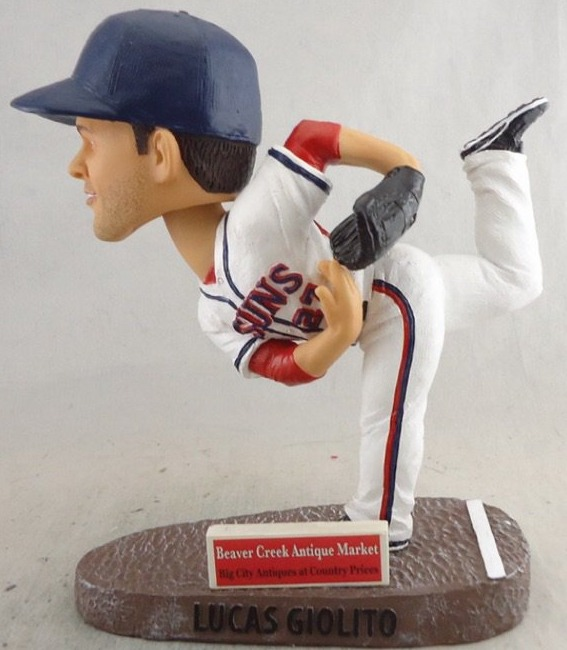 lucas giolito bobblehead - hagerstown suns - 7-2-2016