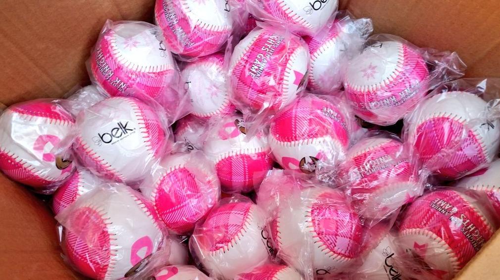 pink baseball - charlotte knights - 5-14-2016