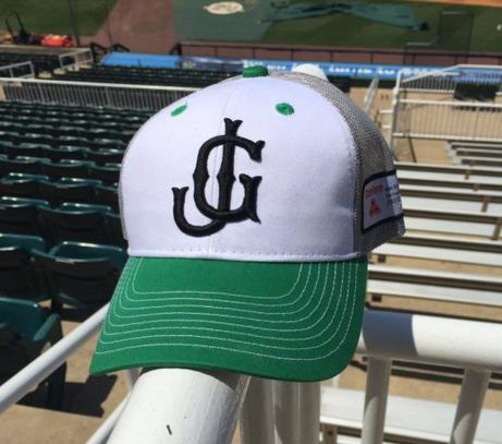 trucker hat - jackson generals - 5-21-2016