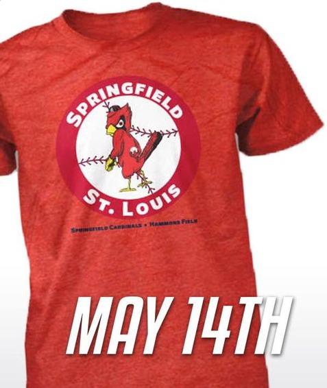 tshirt - springfield cardinals - 5-14-2016