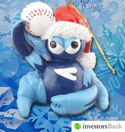 Lakewood Blueclaws Christmas Ornament 6-17-2016