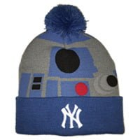 New York Yankees R2D2 Yankees Knit Cap Night 8-5-2016