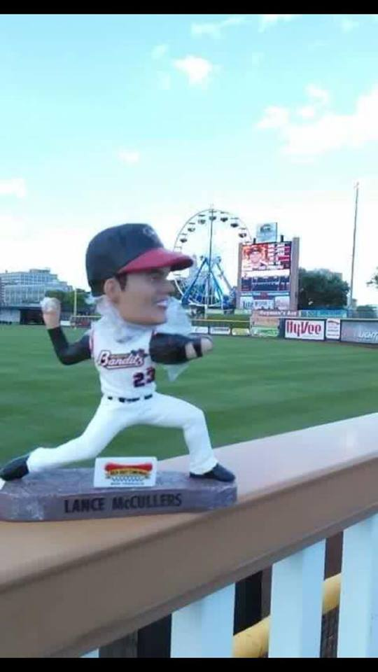 Quad Cities River Bandits Lance Mcullers Bobblehead 6-4-2016