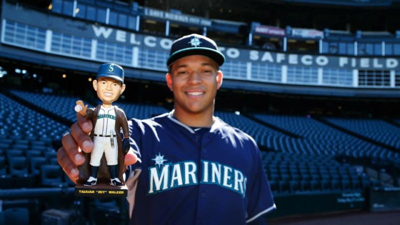 Seattle Mariners Taijuan Skywalker Bobbblehead 8-21-2016