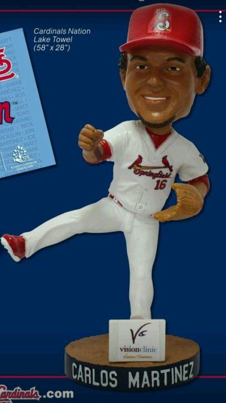 Springfield Cardinals Carlos Martinez Bobblehead