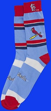 St Louis Cardinals Adult Cardinals Dress Socks 6-19-2016