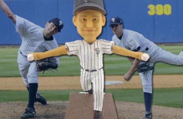 Staten Island Yankees Pat Vendittie Bobblehead 8-19-2016