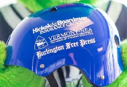 Vermont Lake Monster Youth BMX Helmet 7-10-2016