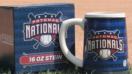 beer stein -potomac nationals - 6-18-2016