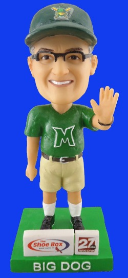 big dog bobblehead - madison mallards - 8-4-2016