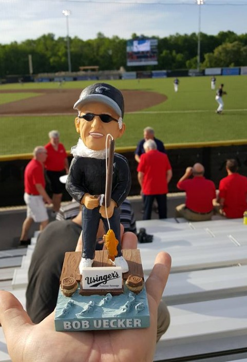 bob uecker fishing bobblehead - lakeshore chinooks - 6-18-2016 (2)