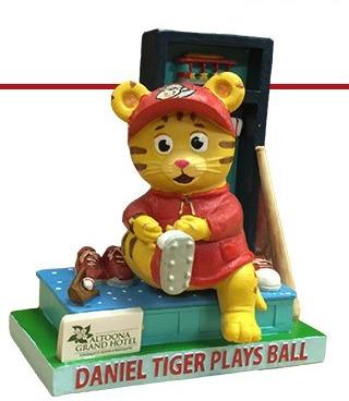 daniel tiger figurine - altoona curve - 6-3-2016