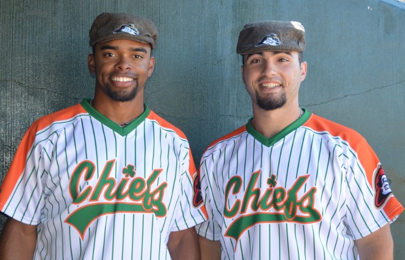 irish paddy cap - peoria chiefs - 6-17-2016