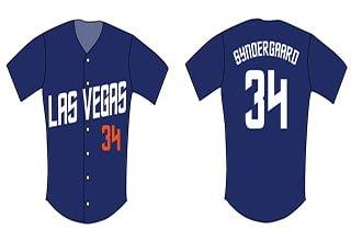 noah syndergaard youth replica jersey - las vegas 51s - 6-4-2016