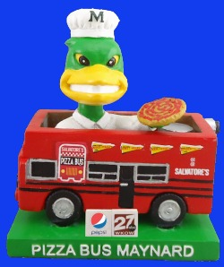 pizza bus maynard - madison mallards - 7-14-2016