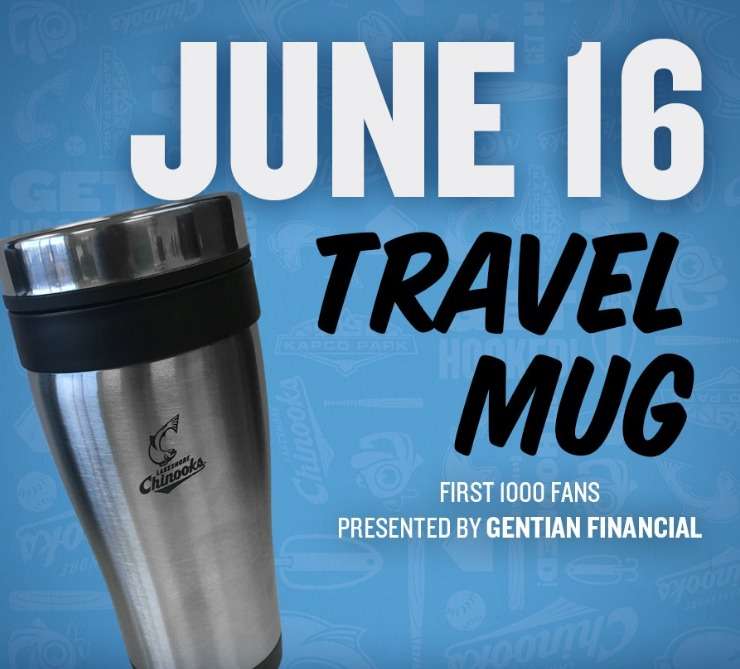 travel mug - lakeshore chinooks - 6-16-2016