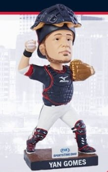 Cleveland Indians Yan Gomes Bobblehead 7-9-2016