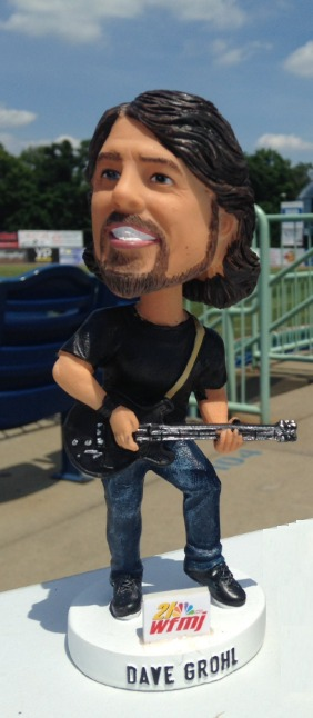 Dave Grohl Bobblehead - Mahoning Valley Scrappers - 7-22-2016