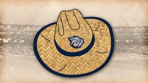 Lehigh Valley IronPigs Cowboy Hat 7-14-2016