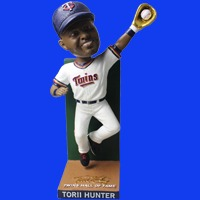 Minnesota Twin Torii Hunter HOF Bobblehead 7-16-2016