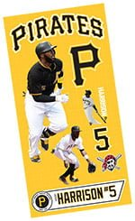 Pittsburgh Pirates Kids Josh Harrison Wall Decals 7-24-2016