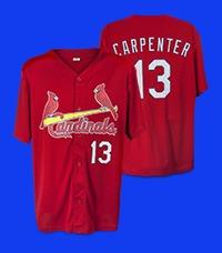 6fe39cfe538 ... promo code for july 2 2016 st louis cardinals matt carpenter batting  practice jersey 17926 f78fd