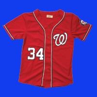 bryce harper kids replica jersey - washington nationals - 7-24-2016