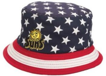 patriotic bucket hat - jacksonville suns - 7-2-2016
