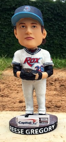 reese gregory bobblehead - st cloud rox - 7-23-2016
