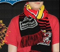 scarf - fargo moorhead redhawks - 7-9-2016