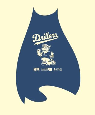 superhero cape - tulsa drillers - 7-31-2016