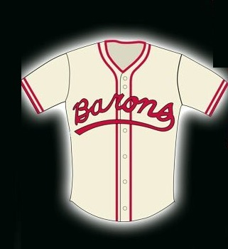 youth replica jersey - birmingham barons - 7-22-2016