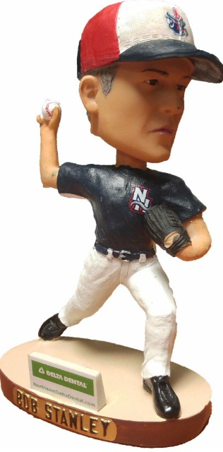 Bob Stanley Bobblehead - New Hampshire Fisher Cats - 8-2-2016