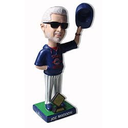 Chicago Cubs Joe Maddon Manager of the Year Award Bobblehead 8-16-2016
