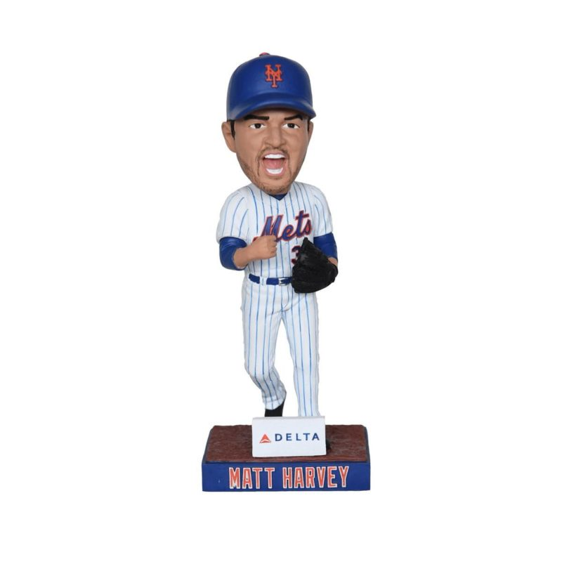 New York Mets Matt Harvey Bobblhead 8-27-2016