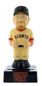 San Francisco Giants Hunter Pence Solar Bobblebody 8-14-2016