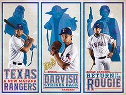 Texas Rangers Takis Rangers Star Wars™ Poster 8-28-2016