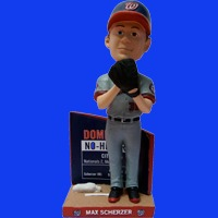 Washington Nationals Max Scherzer No-Hitter Bobblehead 8-26-2016