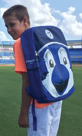 backpack - dunedin bluejays - 8-27-2016