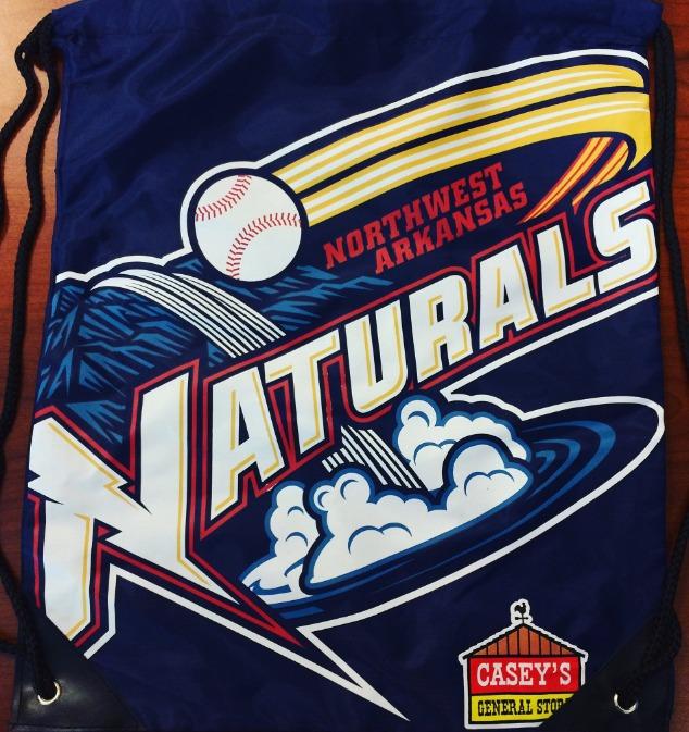 drawstring bag - northwest arkansas naturals - 8-4-2016