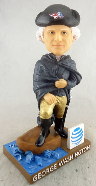 george washington bobblehead - somerset patriots - 8-14-2016