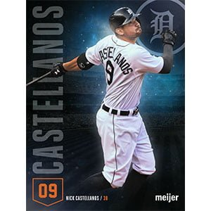 nick castellanos poster - detroit tigers - 8-21-2016