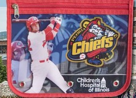 pencil pouch - peoria chiefs - 8-14-2016