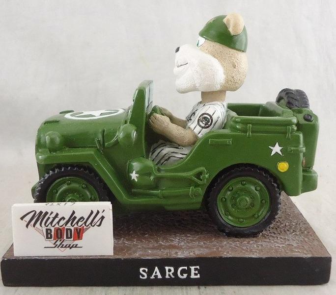 sarge jeep mascot - jackson generals - 8-13-2016