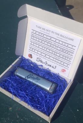 stan musial harmonica - gateway grizzlies - 8-4-2016